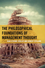 Omslag - The Philosophical Foundations of Management Thought
