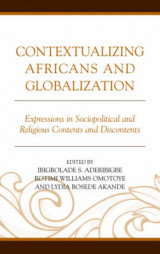 Omslag - Contextualizing Africans and Globalization