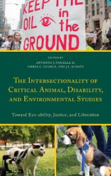 Omslag - The Intersectionality of Critical Animal, Disability, and Environmental Studies
