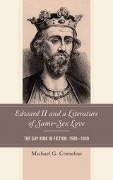 Omslag - Edward II and a Literature of Same-Sex Love