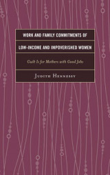 Omslag - Work and Family Commitments of Low-Income and Impoverished Women