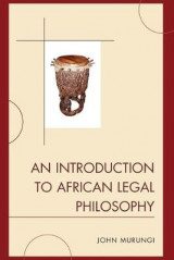 Omslag - An Introduction to African Legal Philosophy