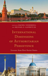 Omslag - International Dimensions of Authoritarian Persistence