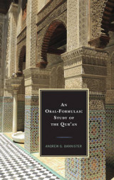 Omslag - An Oral-Formulaic Study of the Qur'an