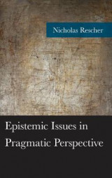 Omslag - Epistemic Issues in Pragmatic Perspective