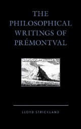 Omslag - The Philosophical Writings of Premontval