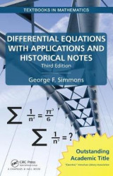 Omslag - Differential Equations with Applications and Historical Notes