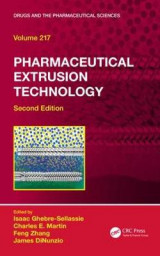 Omslag - Pharmaceutical Extrusion Technology, Second Edition