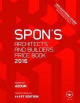 Omslag - Spon's Architect's and Builders' Price Book 2016