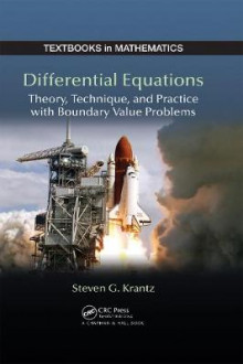 Differential Equations av Steven G. Krantz (Innbundet)