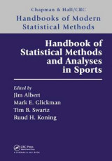 Omslag - Handbook of Statistical Methods and Analyses in Sports
