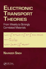 Omslag - Electronic Transport Theories