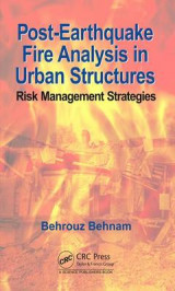 Omslag - Post-Earthquake Fire Analysis in Urban Structures