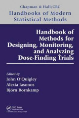 Omslag - Handbook of Methods for Designing, Monitoring, and Analyzing Dose-Finding Trials