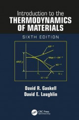 Omslag - Introduction to the Thermodynamics of Materials, Sixth Edition