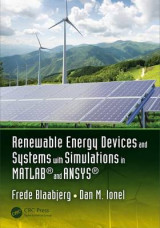 Omslag - Renewable Energy Devices and Systems with Simulations in MATLAB and ANSYS