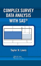 Omslag - Complex Survey Data Analysis with SAS