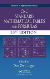 Omslag - CRC Standard Mathematical Tables and Formulas, 33rd Edition