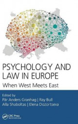 Omslag - Psychology and Law in Europe