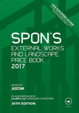 Omslag - Spon's External Works and Landscape Price Book 2017