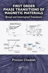 Omslag - First Order Phase Transitions of Magnetic Materials