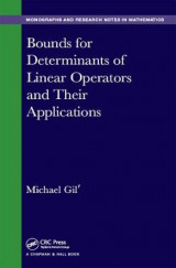 Omslag - Bounds for Determinants of Linear Operators and Their Applications