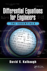 Omslag - Differential Equations for Engineers