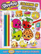 Omslag - Shopkins Coloring in Shopville