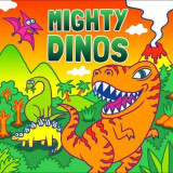 Omslag - Mighty Dinos