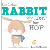 Omslag - The Little Rabbit Who Lost Her Hop