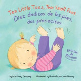 Omslag - Ten Little Toes, Two Small Feet/Diez Deditos de los Pies, DOS Piececitos