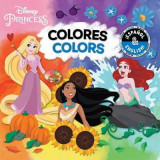 Omslag - Colors / Colores (English-Spanish) (Disney Princess)