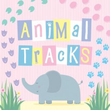 Animal Tracks av Little Bee Books (Kartonert)