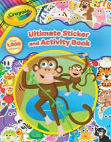 Omslag - Crayola Ultimate Sticker and Activity Book