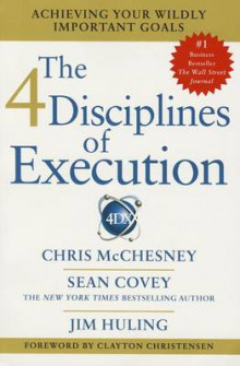 4 Diciplines of Execution av Sean Covey (Heftet)