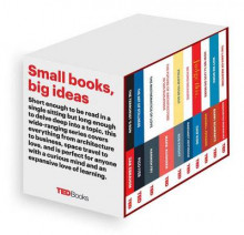 Ted Books Box Set: The Completist av Zak Ebrahim, Hannah Fry, Pico Iyer, Marc Kushner, Margaret Heffernan, Chip Kidd, Stephen Petranek, Barry Schwartz, Siddhartha Mukherjee og Rob Knight (Innbundet)