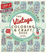 Omslag - The Vintage Coloring & Craft Book