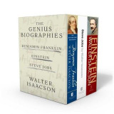 Omslag - Walter Isaacson: The Genius Biographies