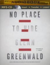 No Place to Hide av Glenn Greenwald (Lydbok-CD)