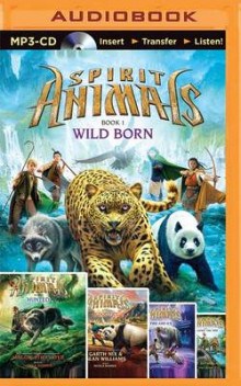 Spirit Animals av Brandon Mull, Maggie Stiefvater, Garth Nix, Sean Williams, Shannon Hale og Tui T Sutherland (Lydbok-CD)