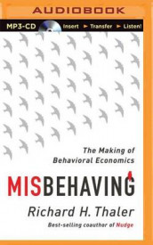 Misbehaving av Richard H Thaler (Lydbok-CD)