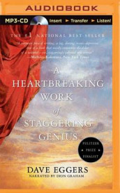 A Heartbreaking Work of Staggering Genius av Dave Eggers (Lydbok-CD)