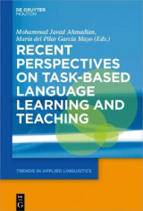 Omslag - Recent Perspectives on Task-Based Language Learning and Teaching