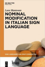 Omslag - Nominal Modification in Italian Sign Language