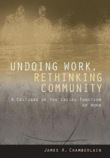 Omslag - Undoing Work, Rethinking Community