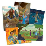 Omslag - Vacation Bible School (Vbs) 2020 Knights of North Castle Bible Story Poster Pak