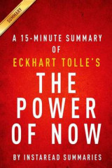 Omslag - The Power of Now by Eckhart Tolle - A 15-Minute Instaread Summary