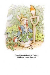 Omslag - Peter Rabbit (Beatrix Potter) 100 Page Lined Journal