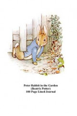 Omslag - Peter Rabbit in the Garden (Beatrix Potter) 100 Page Lined Journal