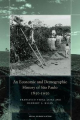 Omslag - An Economic and Demographic History of Sao Paulo, 1850-1950
